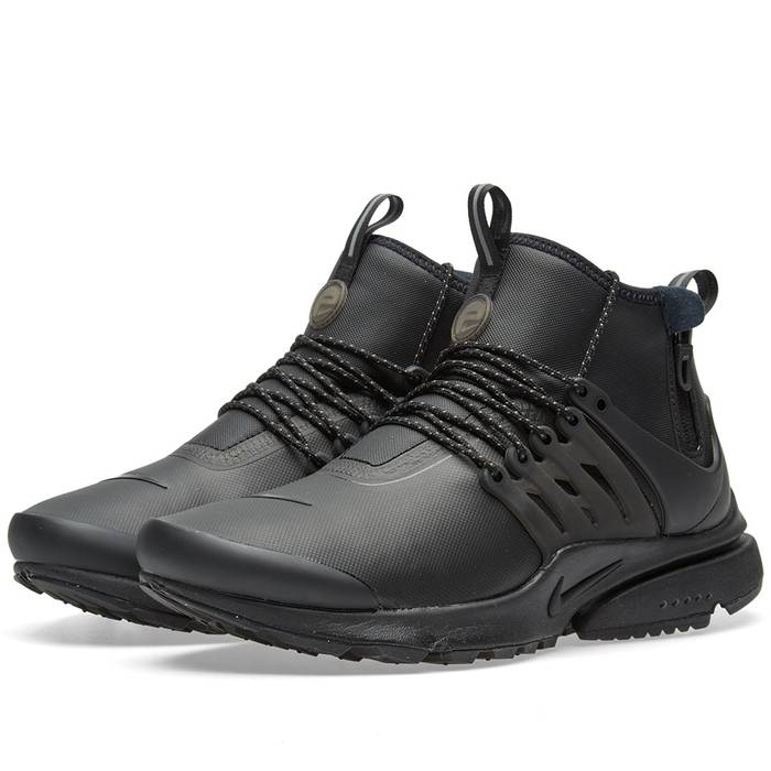 Nike Air Presto Mid Utility Triple-Black Size 10 - Low-Top Sneakers ... 07d70f40a