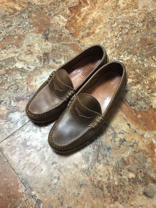 1f3fa333e88 Oak Street Bootmakers Natural Beefroll Penny Loafer Size 10 - Formal ...