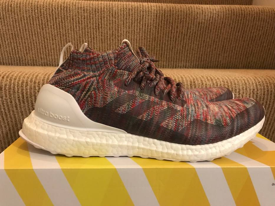 cheap for discount bce70 d9bfd Adidas Ultra Boost Mid Kith Aspen Multicolor US 12 Ronnie Fieg Size US 12   EU