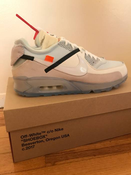 ... Nike Nike X Off White Air Max 90 Virgil Abloh The Ten 10 Off Campus 9.5  ... f6a722dae