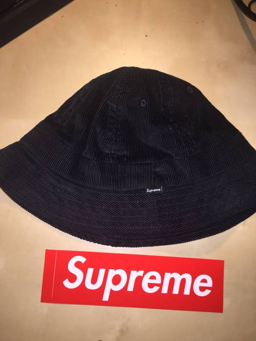 1dbb58741e3 Supreme Supreme Cord Bucket Hat Size one size - Hats for Sale - Grailed