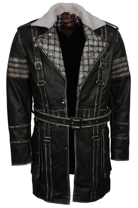 1fc9da655e9 Leather Jacket Elder Maxson Fall Out 4 Maxon Brotherhood Of Steel ...
