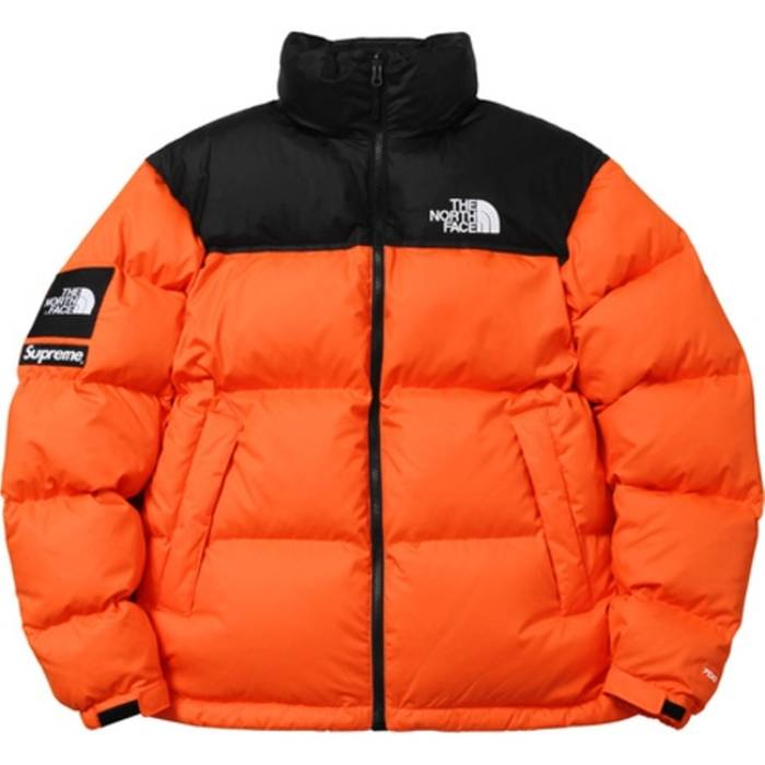 381d5a08c2 Supreme Supreme® The North Face® Nuptse Jacket Orange Size l - Heavy ...