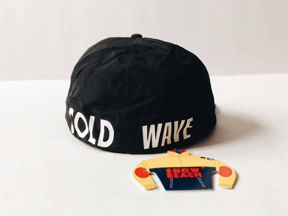 f74ffbdf0e9 Polo Ralph Lauren SNOW BEACH B W  SZ L  FITTED CAP HAT NYLON MULTI BLACK