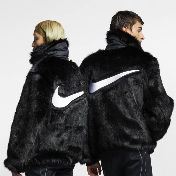 Nike Ambush x Nike Reversible Faux-Fur Jacket in Black Size US M   EU e3655d43cd68