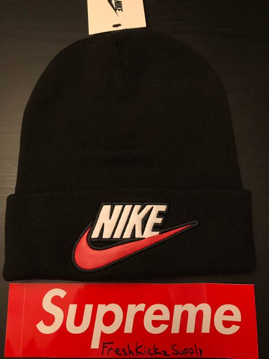 Supreme Supreme x Nike Beanie Black Size one size - Hats for Sale ... afb7afd08bb3