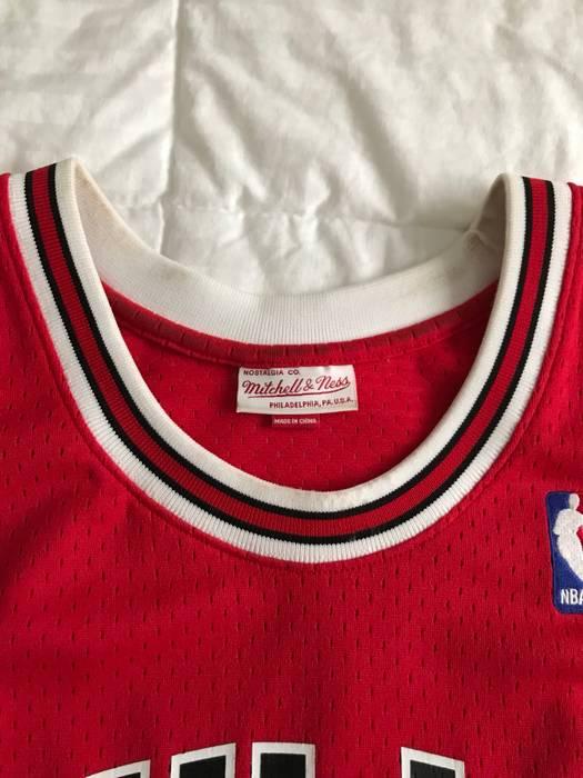 c01d68370c69 Mitchell   Ness Men s Chicago Bulls Michael Jordan Mitchell   Ness Red  Hardwood Classics  12