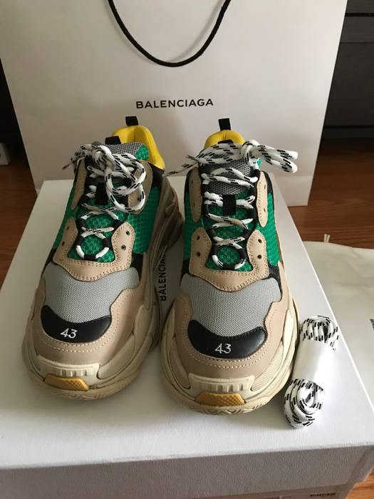4ad3583852d5 Balenciaga Triple S Size 10 - Low-Top Sneakers for Sale - Grailed