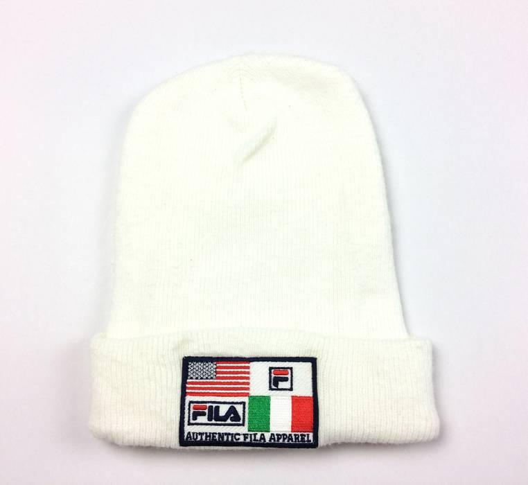 Fila Vintage Fila Ski Hat Big Logo Winter Snow Cap Fila Hats Skate Hip Hop  Style 8ca2060b892b