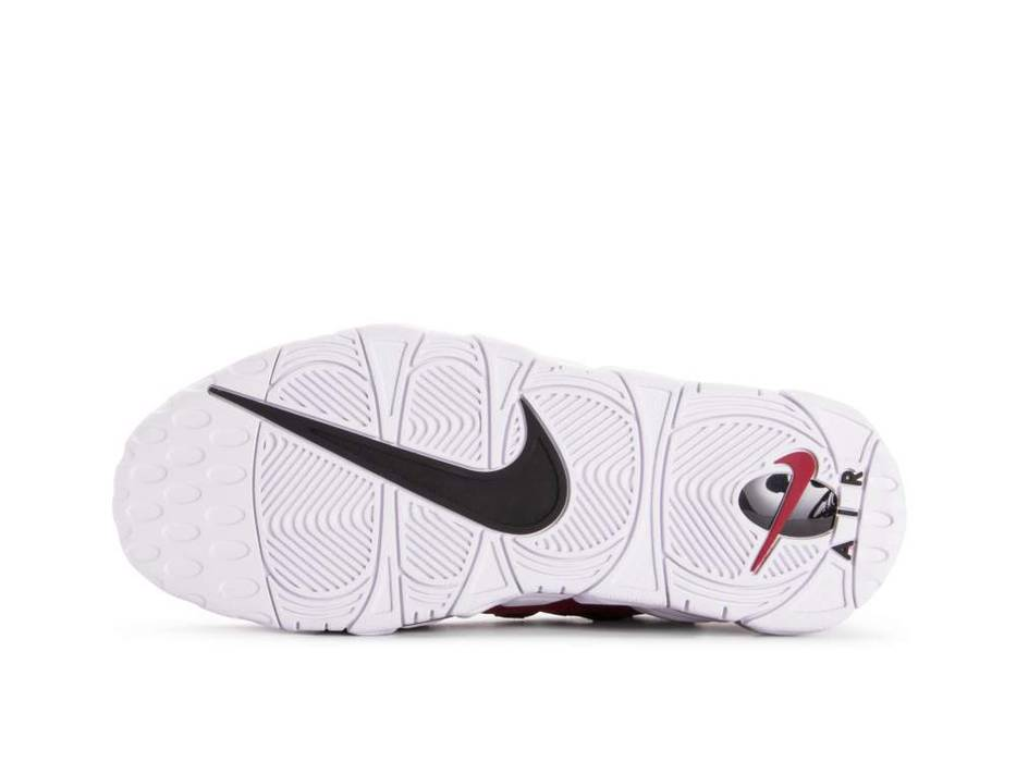 new concept fcefe cec68 Nike Air More Money Mens Size 9 Shoes Gym Red White Black AJ2998 600 Size US