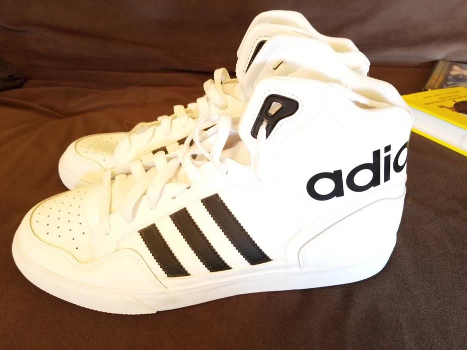 Adidas. Men s Women s Adidas Originals Extaball High Top Leather Basketball  Shoes White Black 9ed15c375