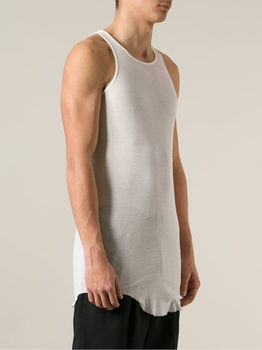 7c1caf55afaf0d Rick Owens Ribbed Cotton Jersey Tank Top Size s - Jerseys for Sale ...