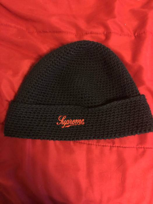 Supreme Black   Red Supreme Beanie Size one size - Hats for Sale ... 4830ba8de2b