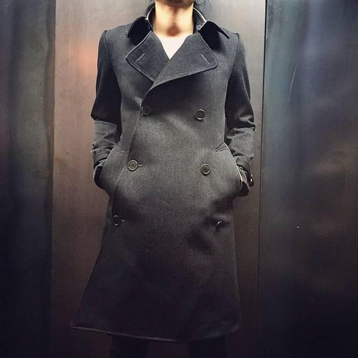 5e00e7fcb6f6a Carol Christian Poell Self-Edge Tailored Trench Coat Size m - Heavy ...