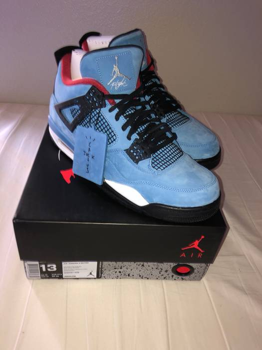 e27b894f235 Nike Travis Scott Cactus Jack Jordan 4 Size 13 - Hi-Top Sneakers for ...
