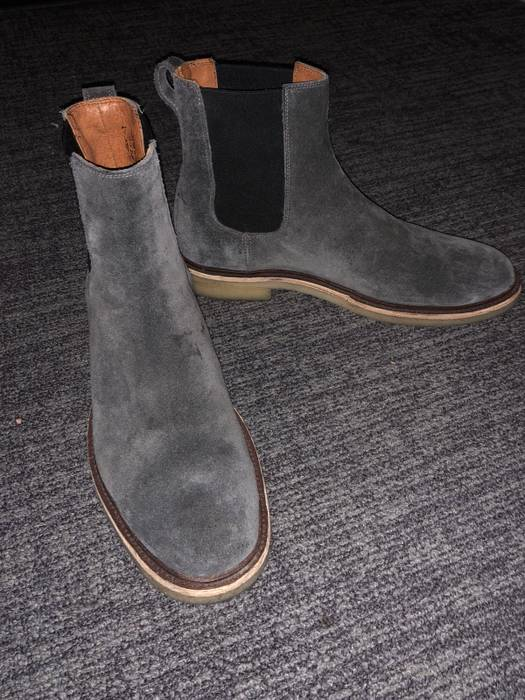 dc47c793523 Frye Chris Crepe Suede Chelsea Boot Size 11.5 - Boots for Sale - Grailed