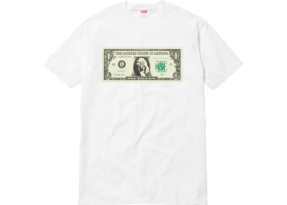 Supreme Zillion Dollar Bill Tee Shirt