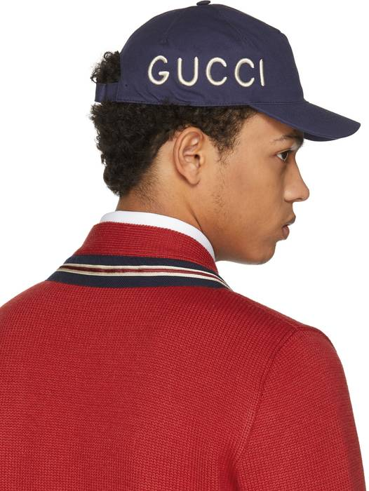 Gucci Gucci Navy  Loved  cap NO MORE PRICE DROP Size one size - Hats ... eba58882d912