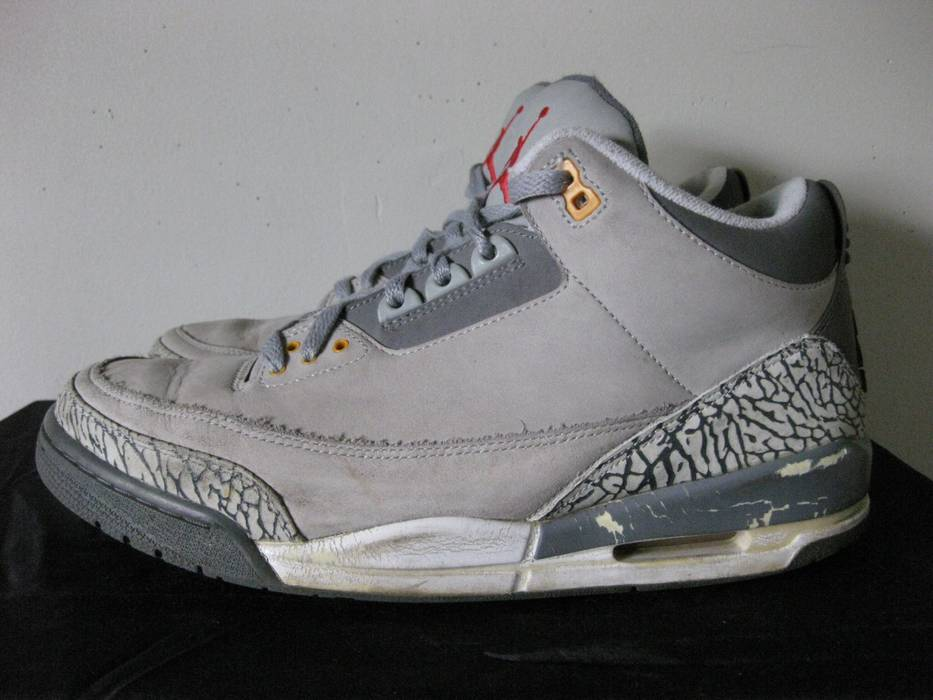 Jordan Brand Air Jordan 3 LS Cool Grey Size 11.5 - Low-Top Sneakers ... c41dc7704