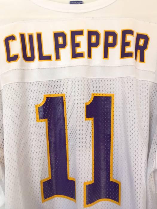 aebae9773 Champion Minnesota Vikings Daunte Culpepper  11 Jersey Size US M   EU 48-50