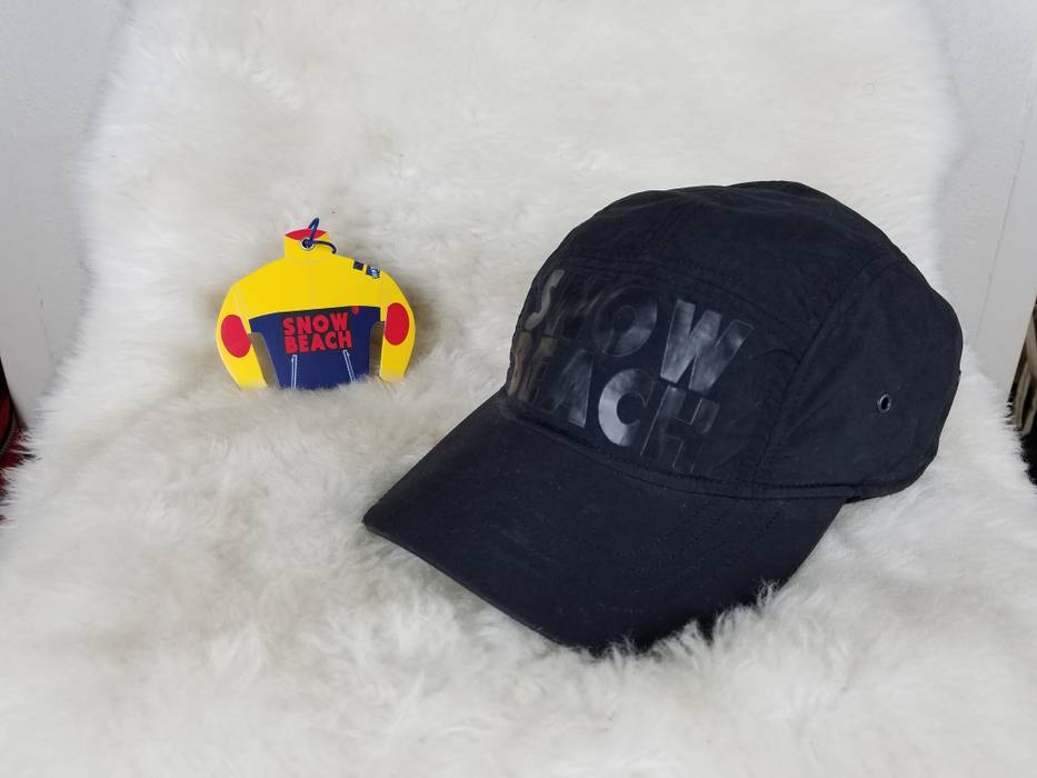 Polo Ralph Lauren Snow Beach Cold Wave Strapback Camp Hat Size one ... d66ba9dc4c69