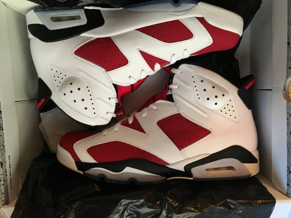 f2a9e0879a824e Jordan Brand Jordan 6 Carmine Size 11 - Hi-Top Sneakers for Sale ...