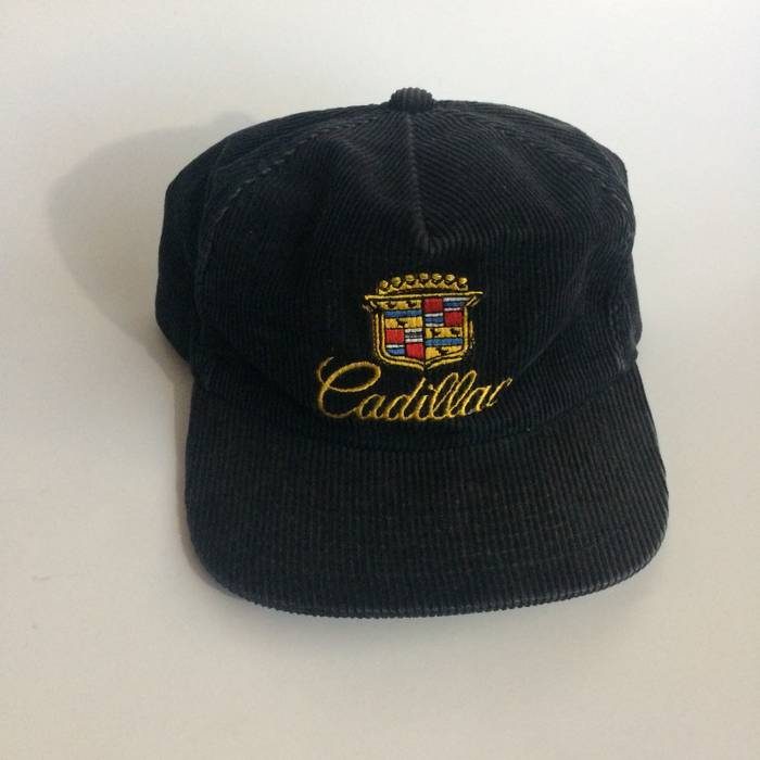 Vintage RARE VINTAGE CADILLAC CORDUROY SNAPBACK Size one size - Hats ... 2cdae0bf40b