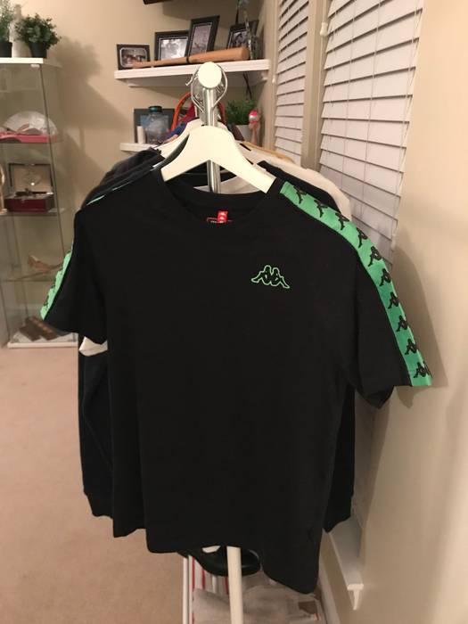 Kappa Kappa Tape T Shirt Lime Green Size s - Short Sleeve T-Shirts ... 6e68afada