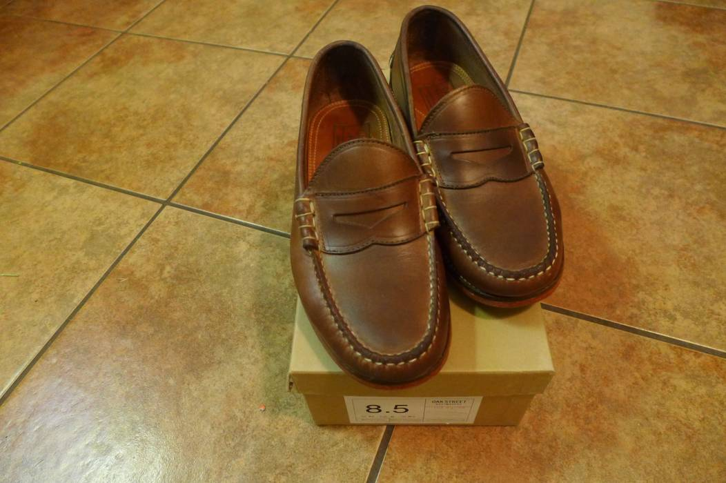 04e8c17eccd Oak Street Bootmakers Natural Beefroll Penny Loafer Size 8.5 ...
