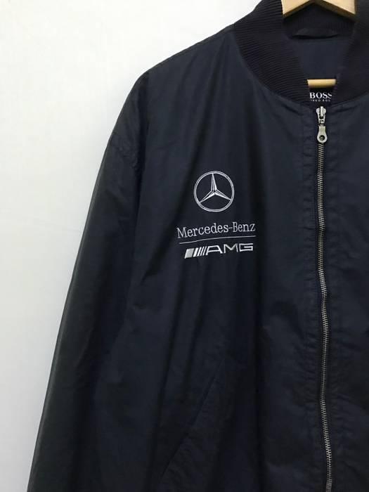 Hugo Boss Rare Hugo Boss X Mercedes Benz Amg Bomber Jacket Size L