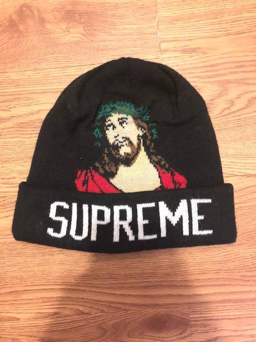 Supreme INRI Beanie Size one size - Hats for Sale - Grailed 179cb3e8fac