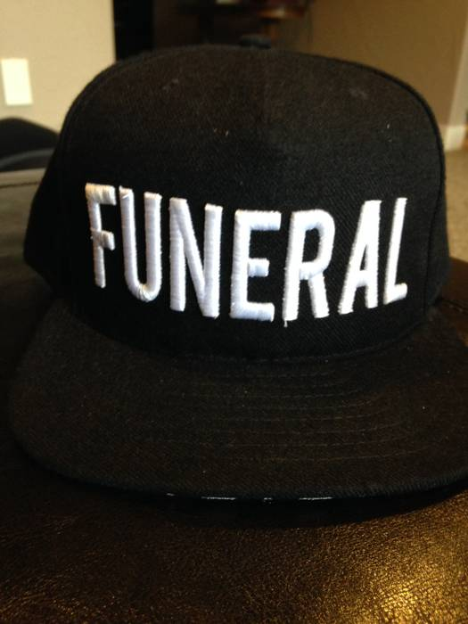 Black Scale FUNERAL snapback Size one size - Hats for Sale - Grailed 615da51b665
