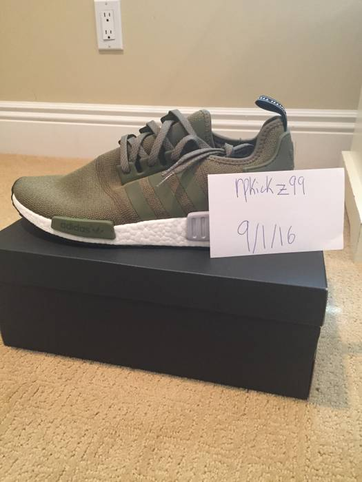 low priced c90c7 e2837 Adidas. NMD Olive Green European Exclusive