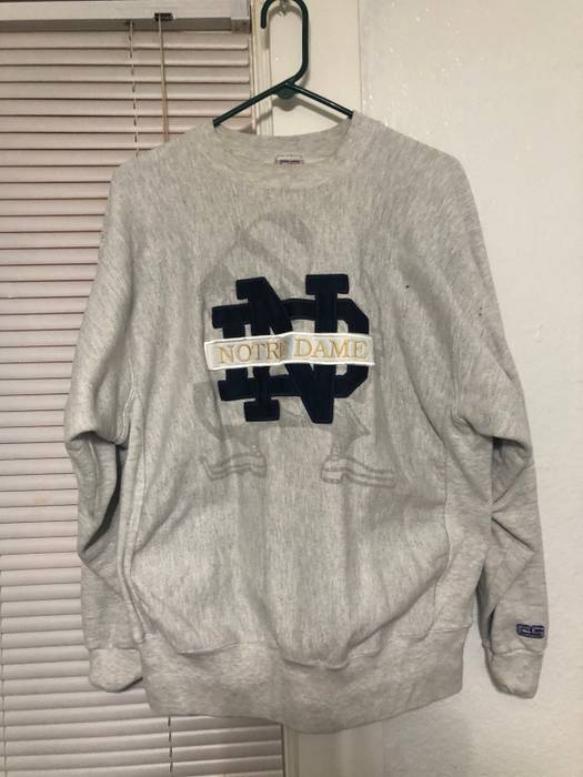 Vintage Vintage Notre Dame Sweatshirt Size Xl Sweatshirts
