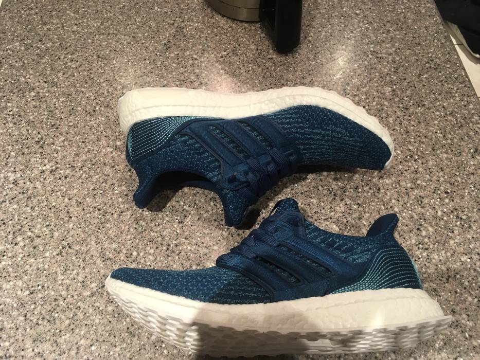 "e21c8724ccd20 Adidas Ultraboost 3.0 ""Parley-Midnight Navy"" Size 9 - Low-Top ..."