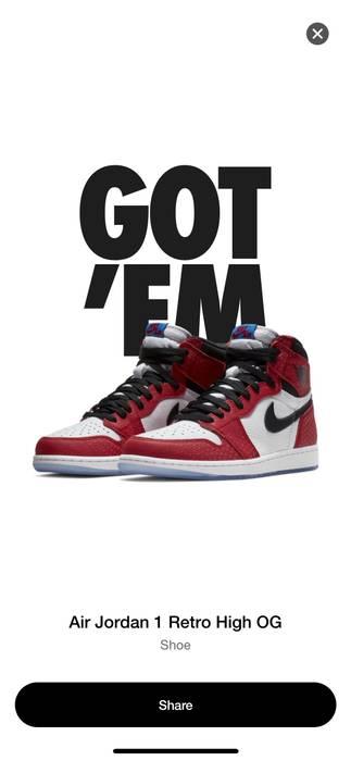 Nike Nike Jordan Spider-Man Original Story Size 9 - Hi-Top Sneakers ... 4dec11510