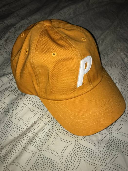 d5b1181771b Palace P 6-Panel Cheddar Hat Size one size - Hats for Sale - Grailed