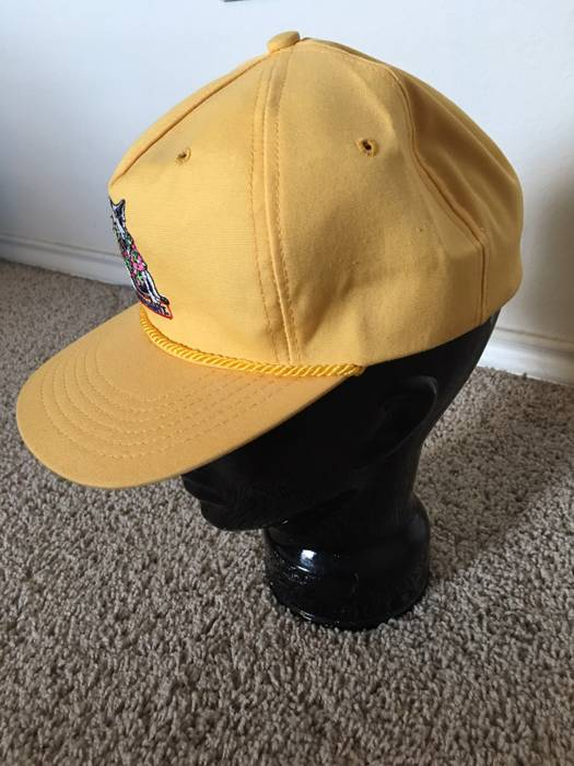 Vintage Bud Light vintage Spuds Mackenzie Yellow Dad Hat Size ONE SIZE - 1 1cbd004885c3