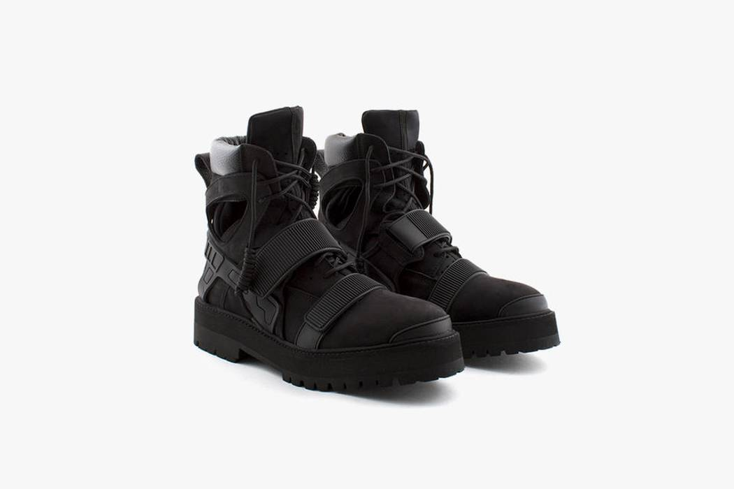 Hood By Air Hba X Forfex Avalanche Boot Og Black Cream Size 8