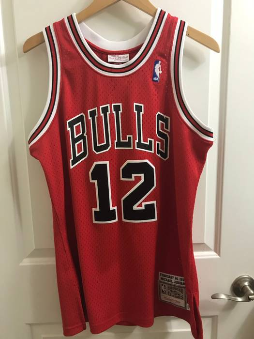 newest collection 17803 63273 italy chicago bulls 12 jersey eee9b 8560d