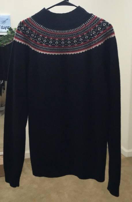 Uniqlo Wool Fair Isle Sweater Size L Sweaters Knitwear For Sale
