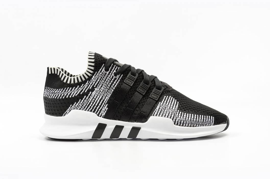 official photos f720d e4c7e Adidas. EQT Support ADV Primeknit Black White