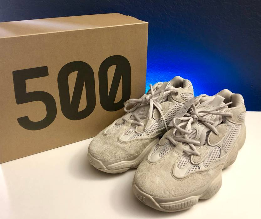 64958b3fd424a Adidas Kanye West adidas Yeezy 500 Blush Size 9 - Low-Top Sneakers ...