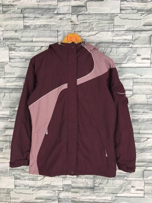 578435f67d Vintage COLUMBIA Bomber Jacket Small Women Vintage 90 s Columbia Usa  Sportswear Company Maroon Jacket Sports Windbreaker