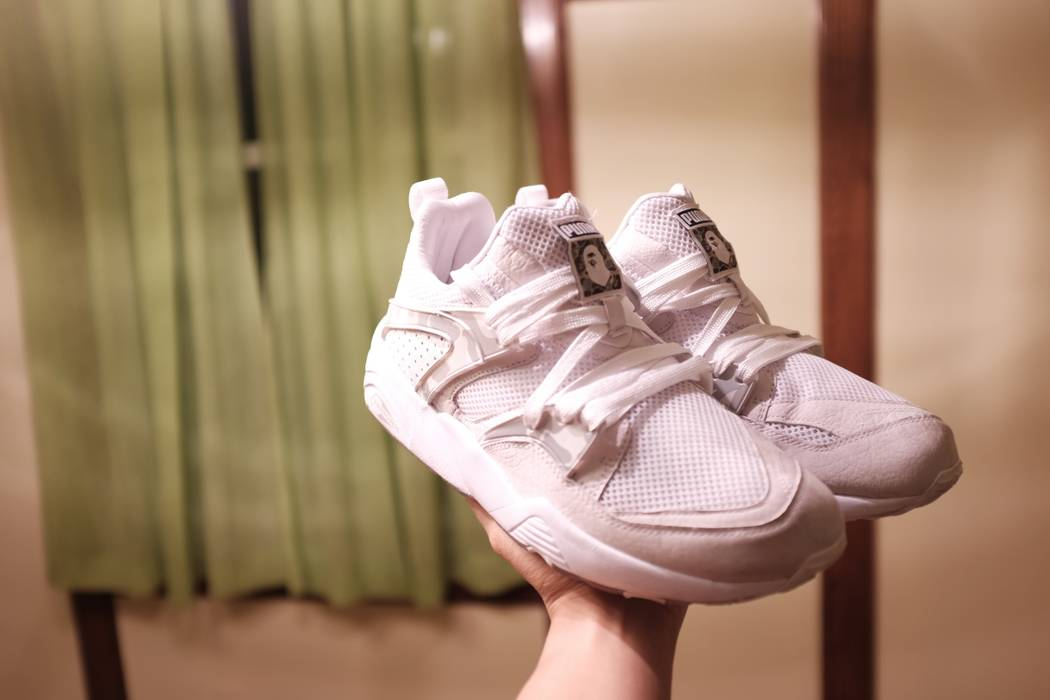 f1292ad29fcebe Bape Puma Blaze of Glory X BAPE Size 9 - Hi-Top Sneakers for Sale ...