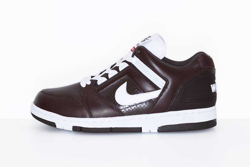 df00e0ca6f4c Supreme Supreme x Nike SB Air Force 2 Size 8.5 - Low-Top Sneakers ...