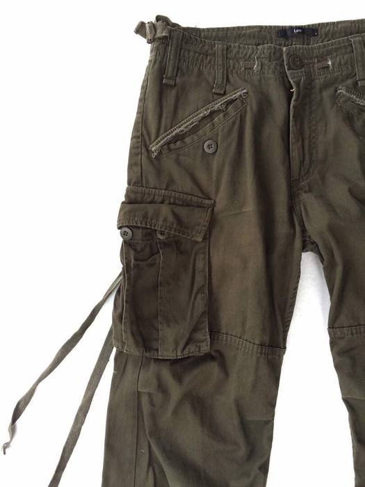 666a644148209 Street Wear Japanese Brand Lucy Tactical Bondage Parachute Utility Combat  Trousers Cargo Pant Size US 30