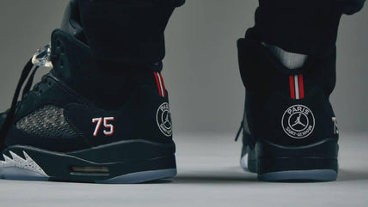 Nike Jordan 5 X Psg Size 13 Hi Top Sneakers For Sale Grailed. Paris Saint  Germain Official Store Psg Shirts 18 19 ... a66c6fe8e