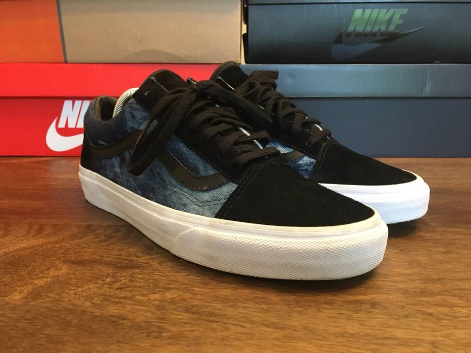 168b506b416 Vans Old Skool Bleached Denim Size 9 - Low-Top Sneakers for Sale ...