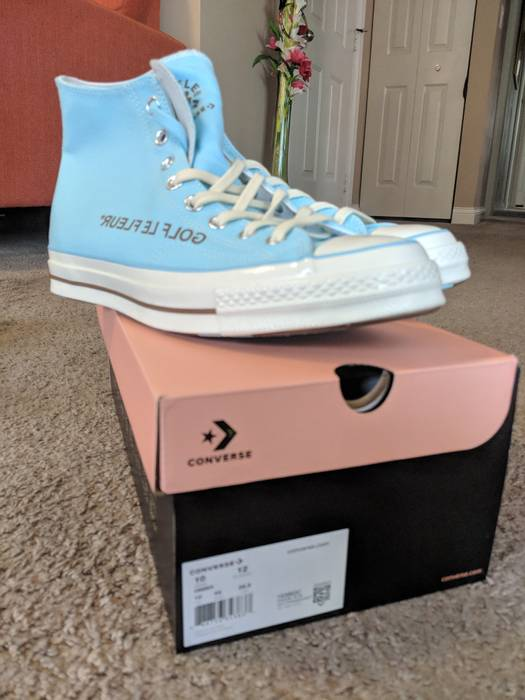 Golf Wang Golf Le Fleur High Top Converse Size 10 Hi Top Sneakers